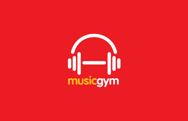 music-gym-logo-design
