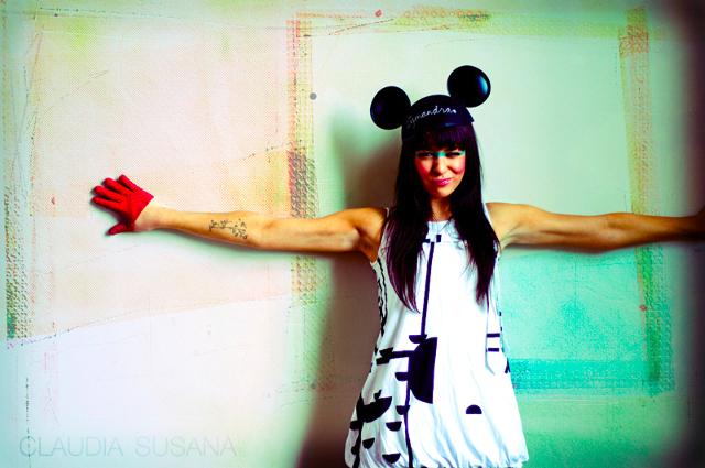 Modern Mickey MouseMakeup