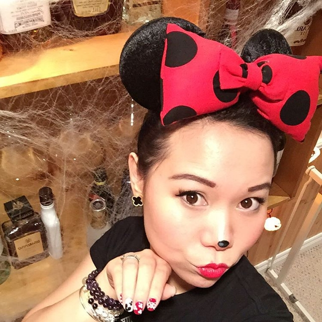 cute minnie mouse makeup