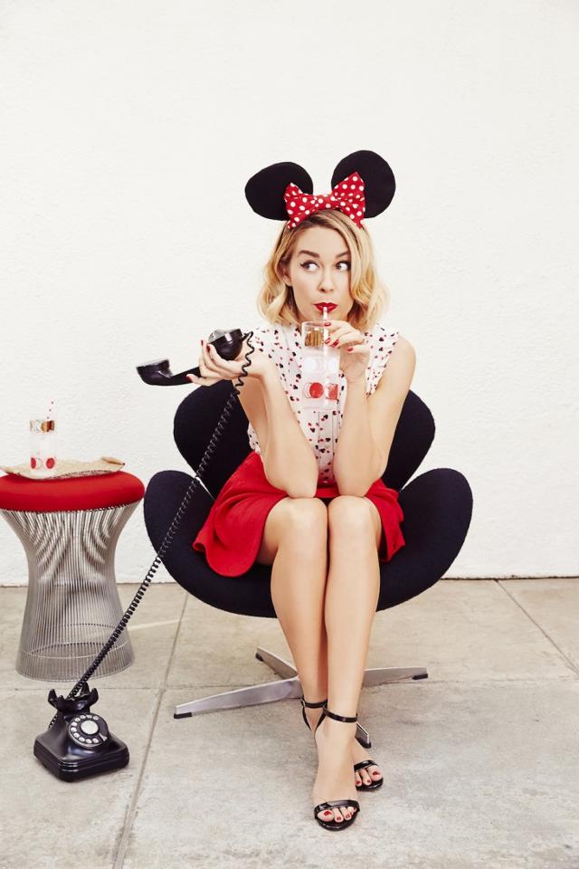Lauren Conrad Mickey Mouse Makeup