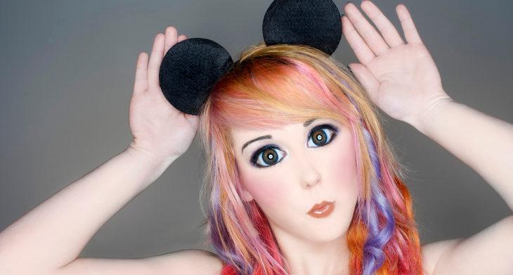 Beautiful Mickey Mouse Makeup Designs