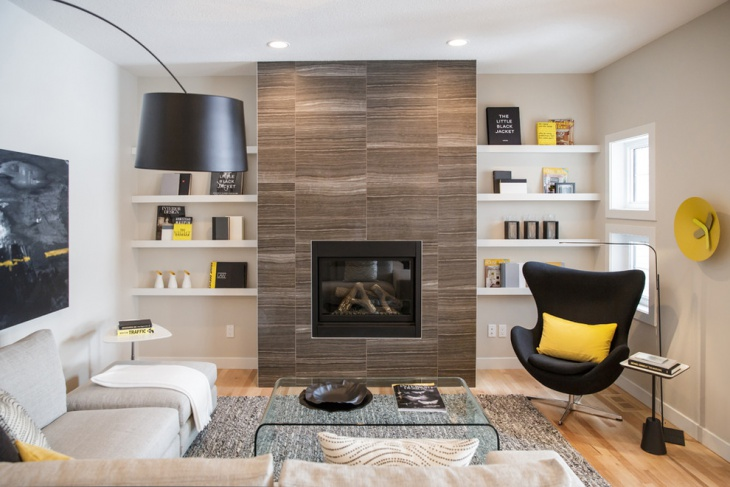 living-room-with-fireplace-shelves