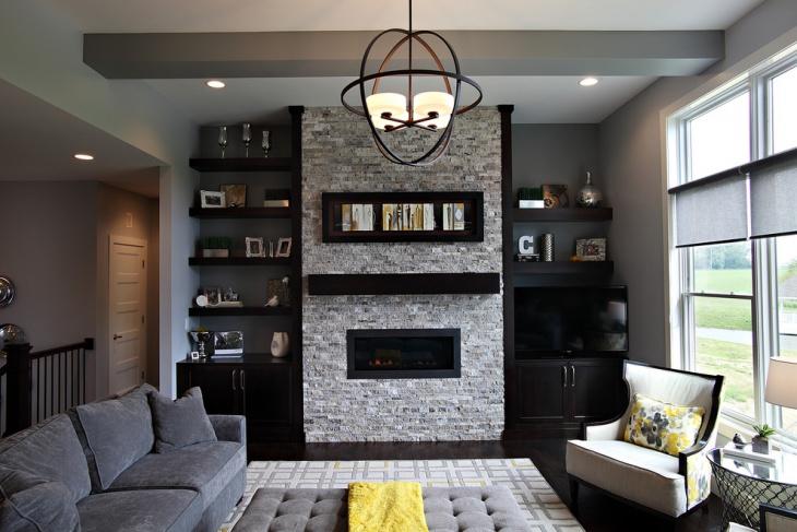 black-decorative-shelves