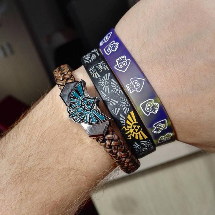 Handmade Zelda Bracelet