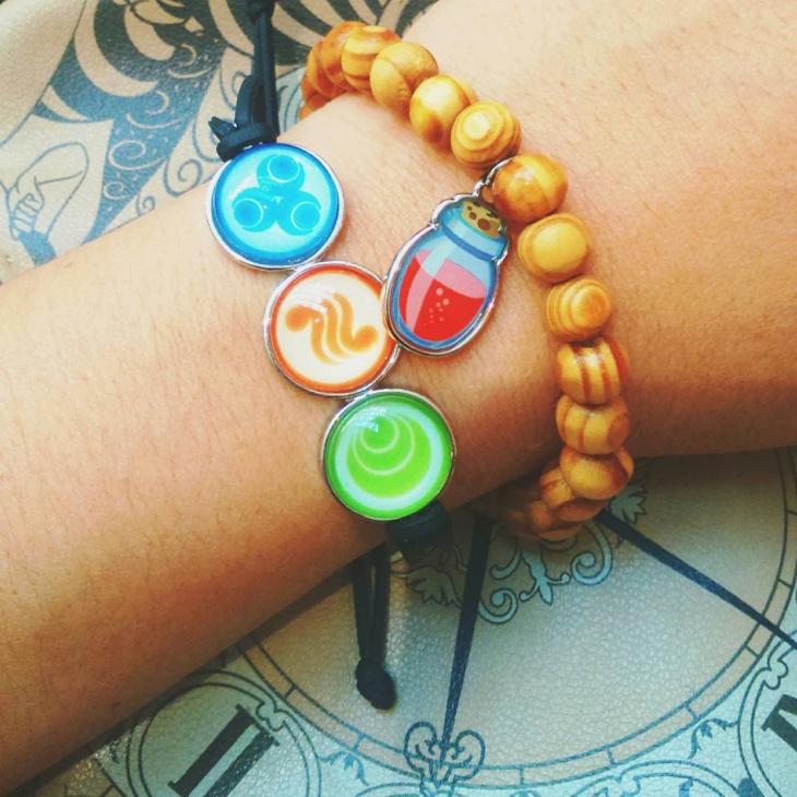 Wooden Zelda Bracelet Design