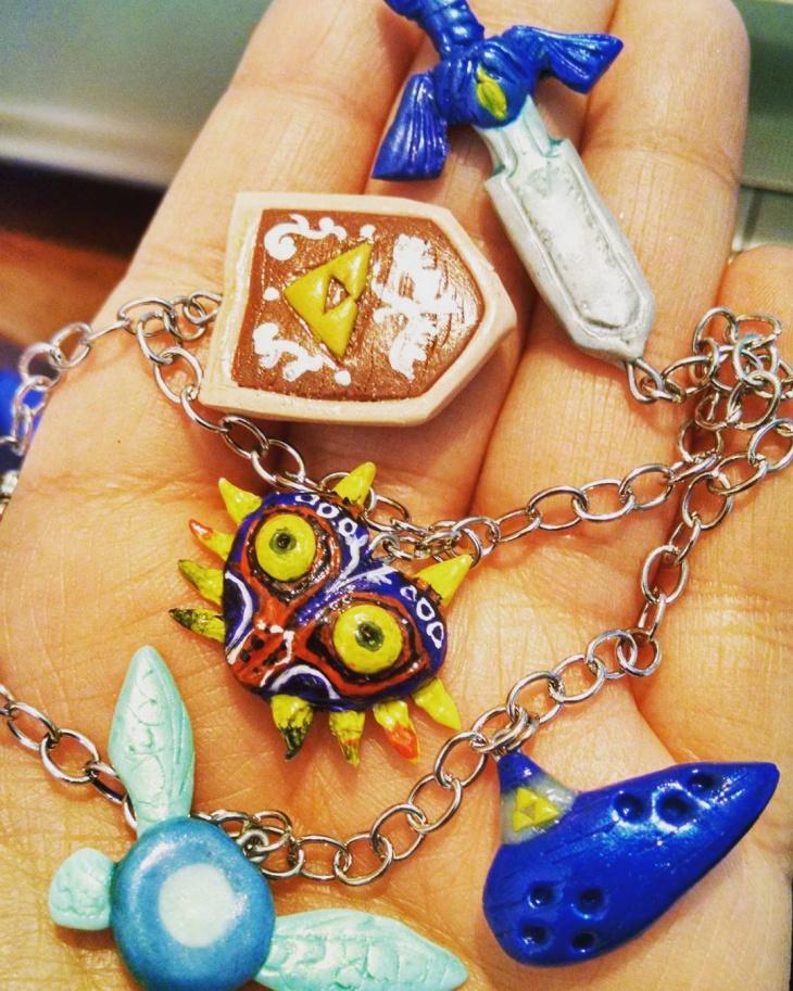 Chain Zelda Bracelet Design