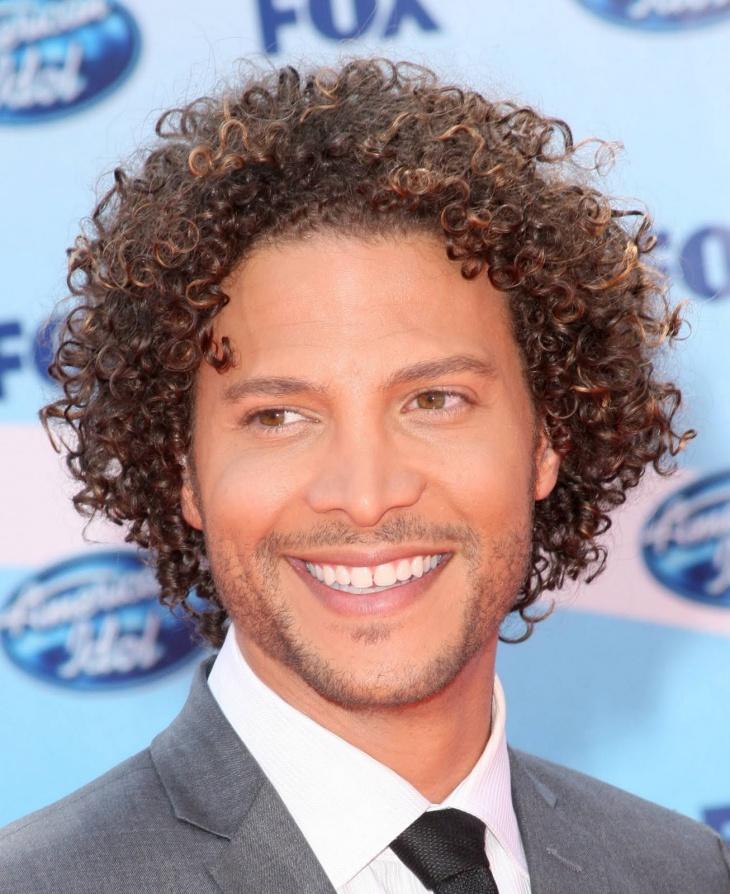 justin guarini black men short curly hairstyle1