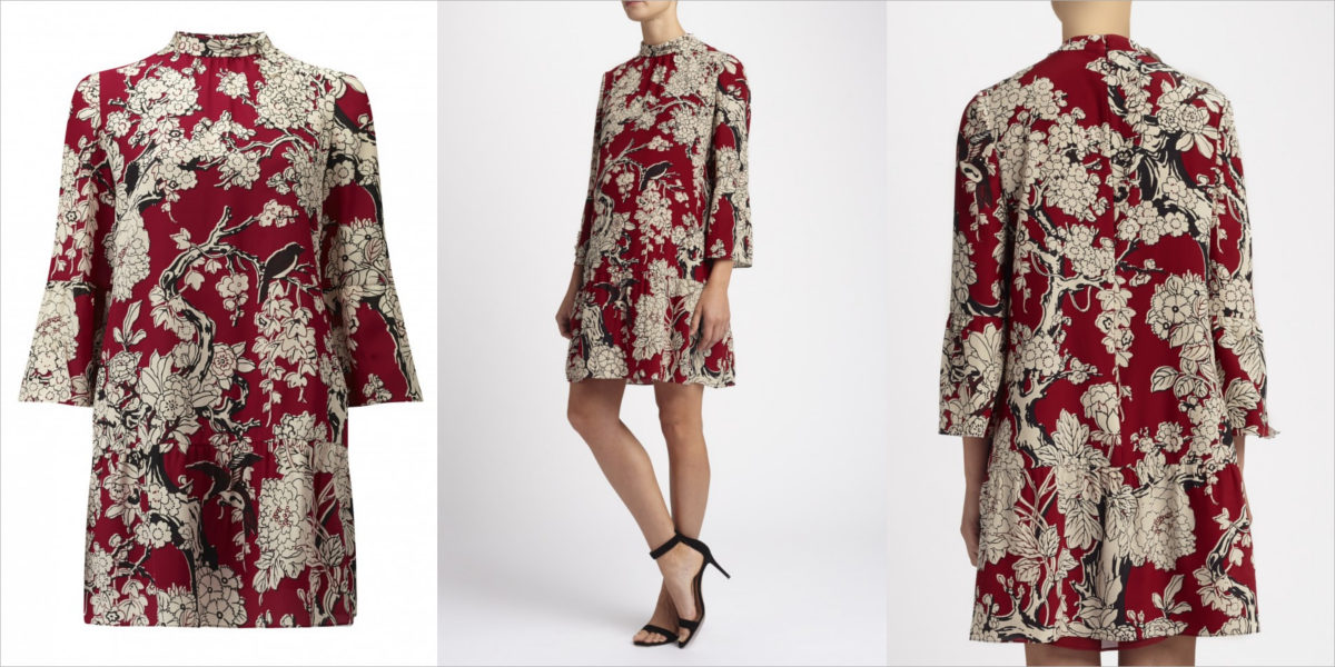 valentino-printed-silk-tree-dress