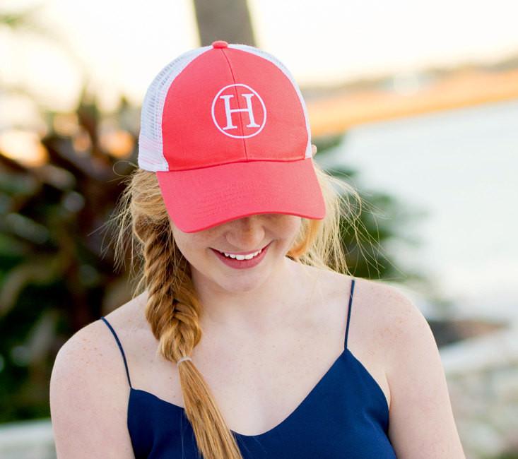 Preppy Trucker Hat Design
