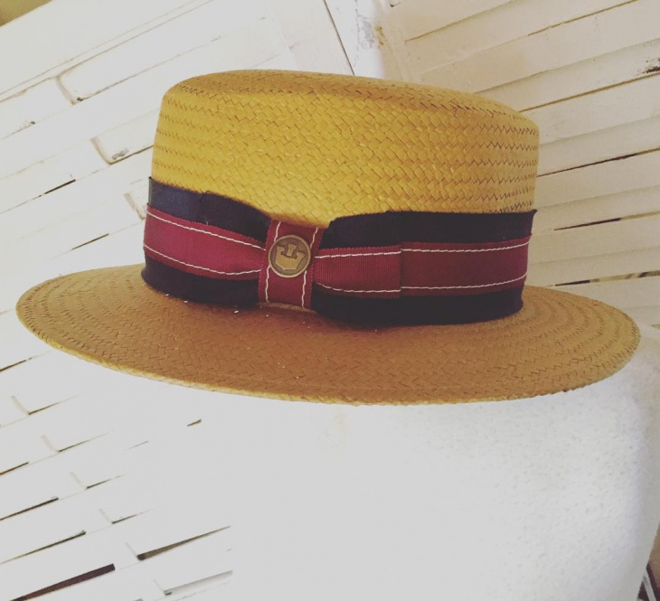 vintage preppy hat design