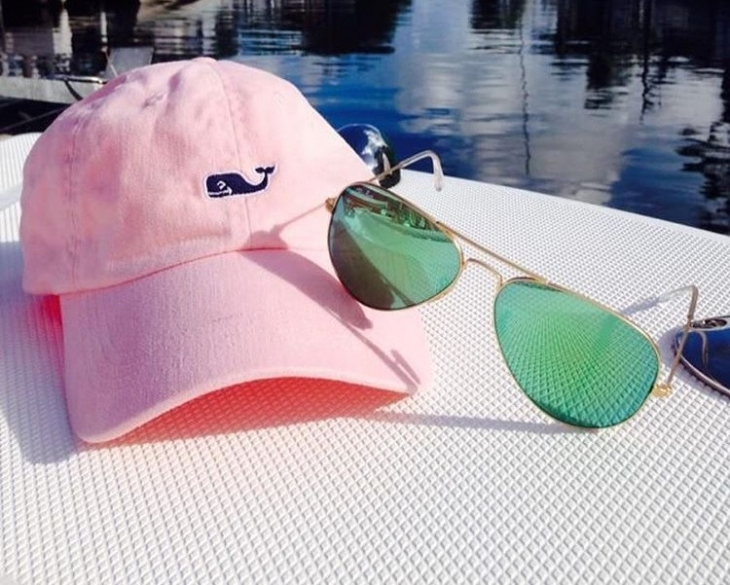 Pink Preppy Hat Design