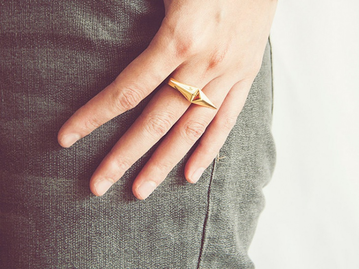 Double Prism Ring Design
