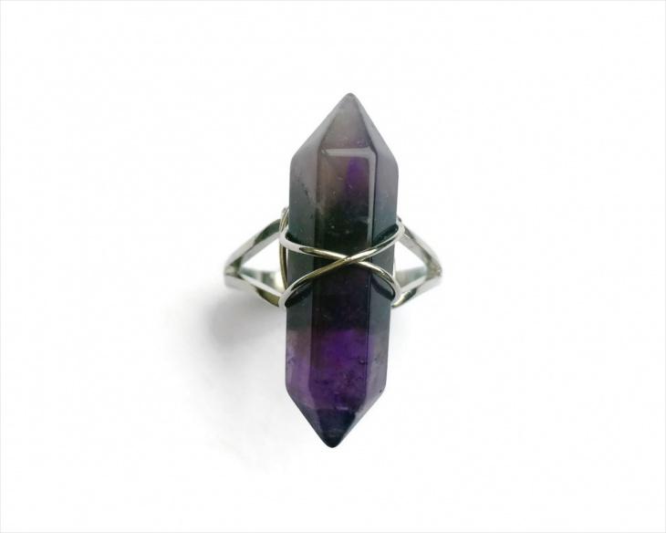 Vintage Prism Ring Design