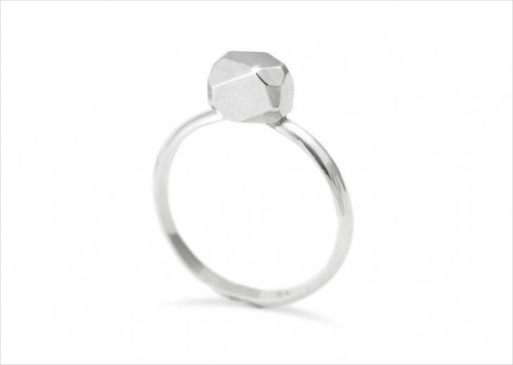 Sliver Prism Ring
