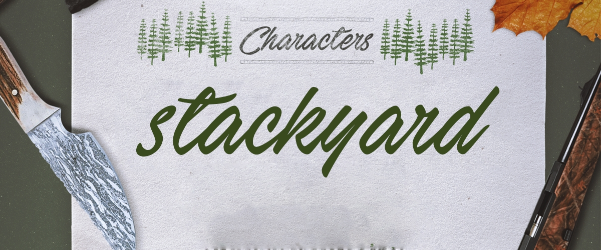 Hand Stockyard Font