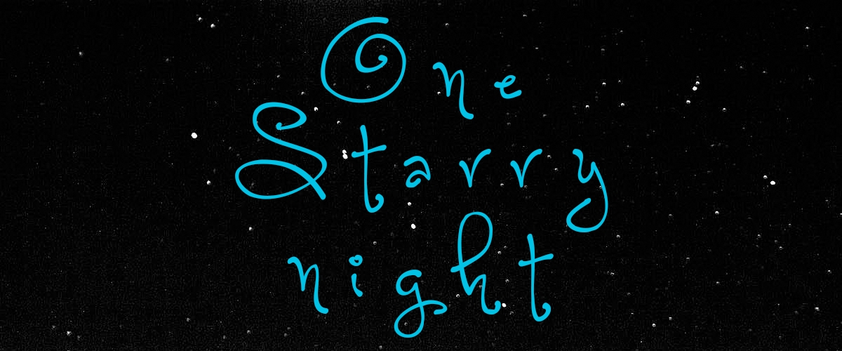 one-starry-night