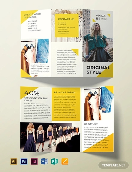 22+ Fashion Brochure Designs, PSD Download