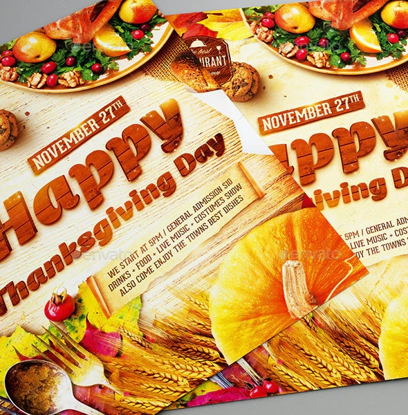 Thanksgiving Day Party Templates