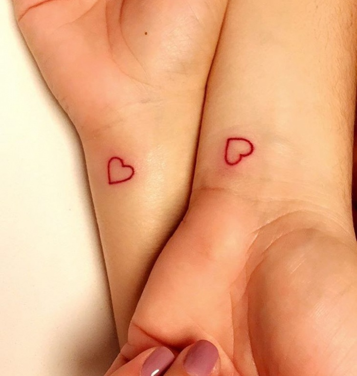Small Sister Tattoo on Wrist