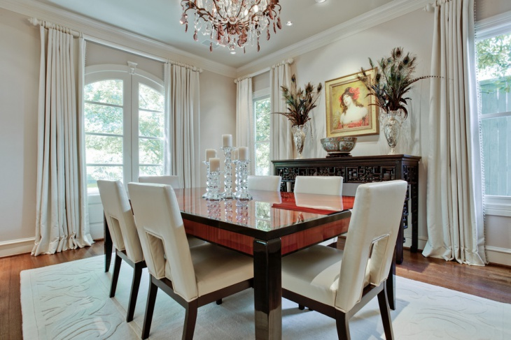 18 White Dining Room Designs Ideas Design Trends