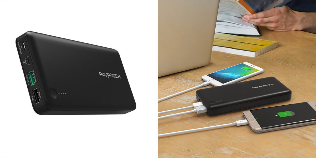 ravpower portable external battery charger
