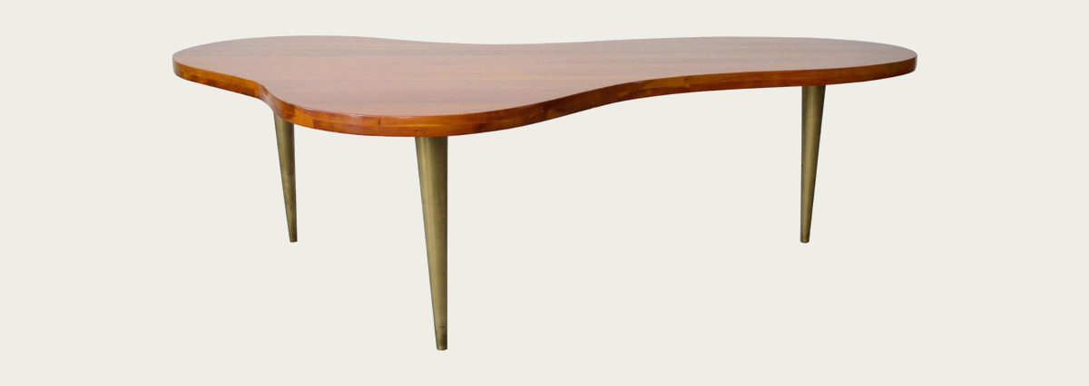 walnut-and-brass-biomorphic-coffee-table