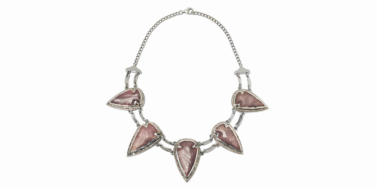 pamela love arrowhead collar necklace