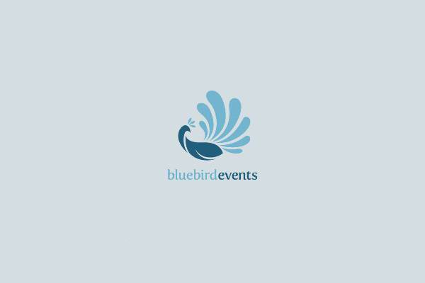 blue bird event logo