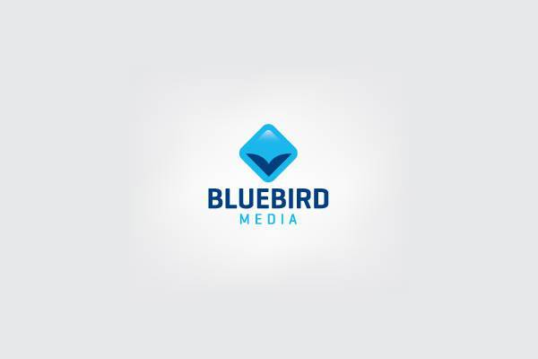 blue bird media logo