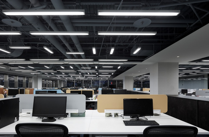 Office Linear Pendant Lights