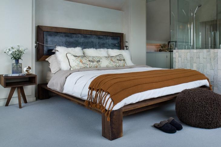 Platform Wooden Bed Design