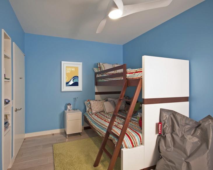 Modern Bunk Bed Room Idea