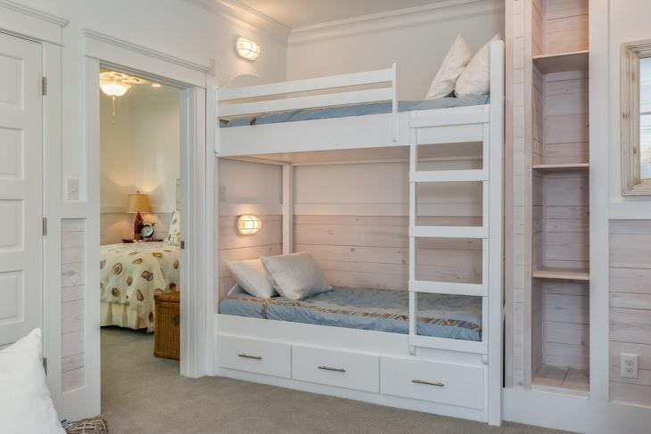 Kid's Bunk Bed Design