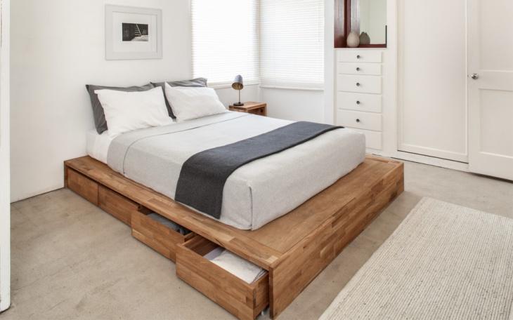Platform Storage Bed Design
