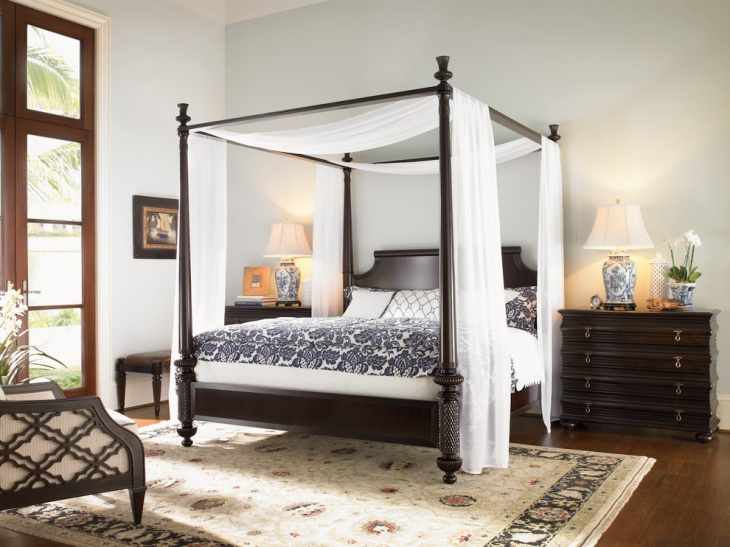 Canopy Bed Decorating Idea