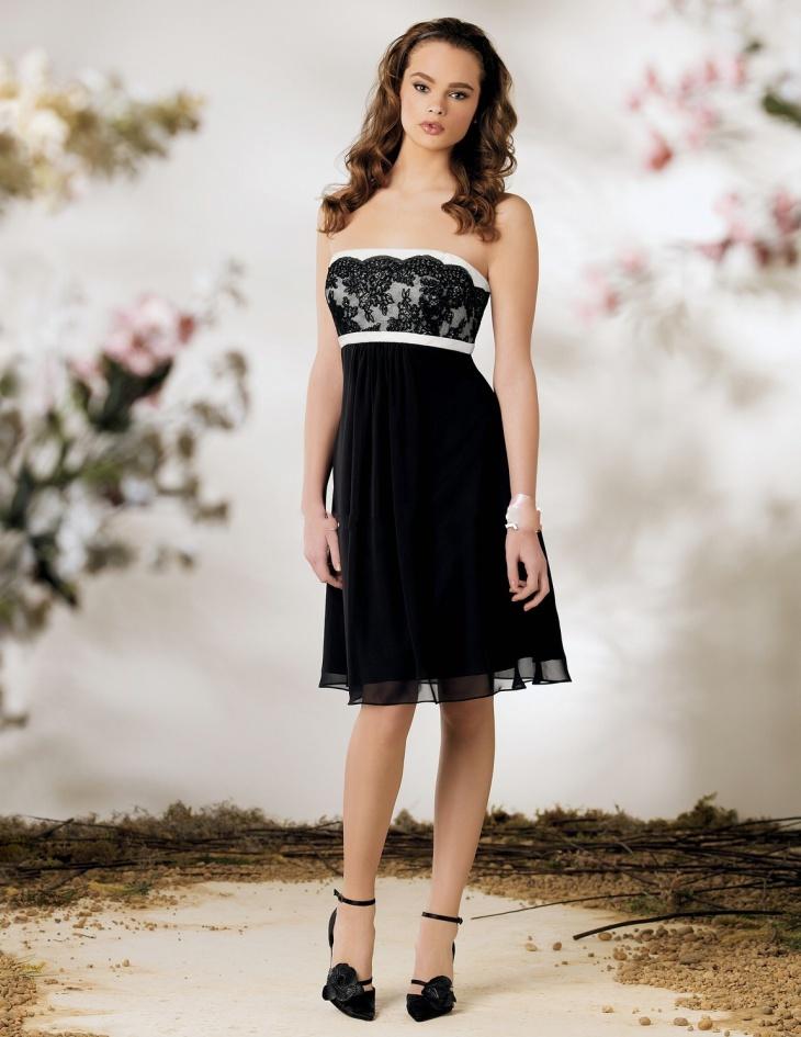 Little Black Lace cocktail Dress