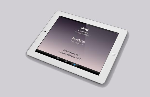 Perspective iPad Mockup