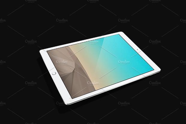 Horizontal iPad Mockup