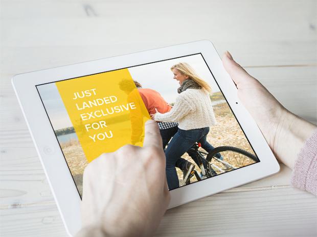 Free PSD iPad Mockup