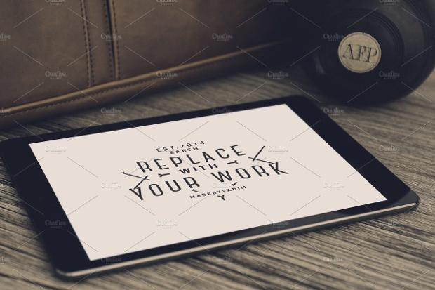 Hip iPad Mockup