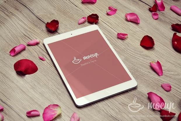 editable ipad mini mockup