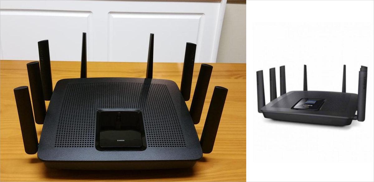 linksys ea9500 max stream ac5400 mu mimo gigabit router