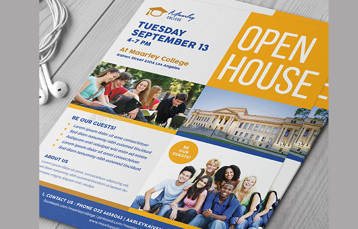 30  open house flyers