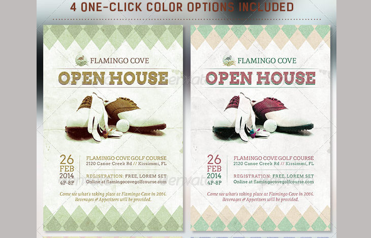 free open house flyer templates