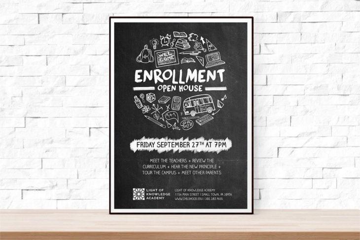 school-open-house-flyer