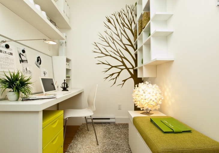 Modern White Home Office Furniture