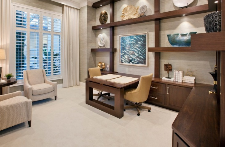 22 home office furniture designs ideas design trends Custom home office design