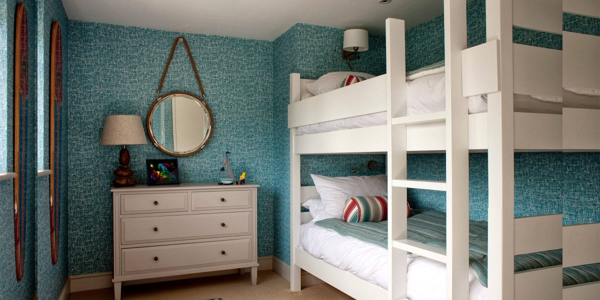 coastal style bunk bed