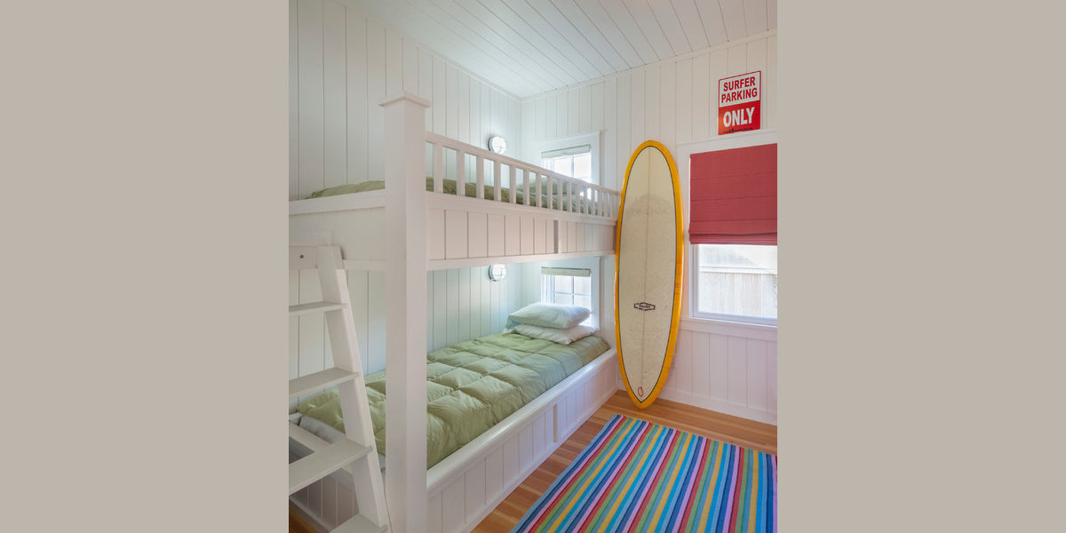 beach inspired bunk bed