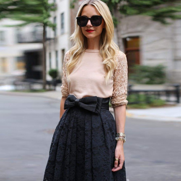 Sleeve Lace Maxi Dress